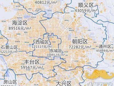 收藏!全国最新『房价地图』出炉,这个城市跌了8%!